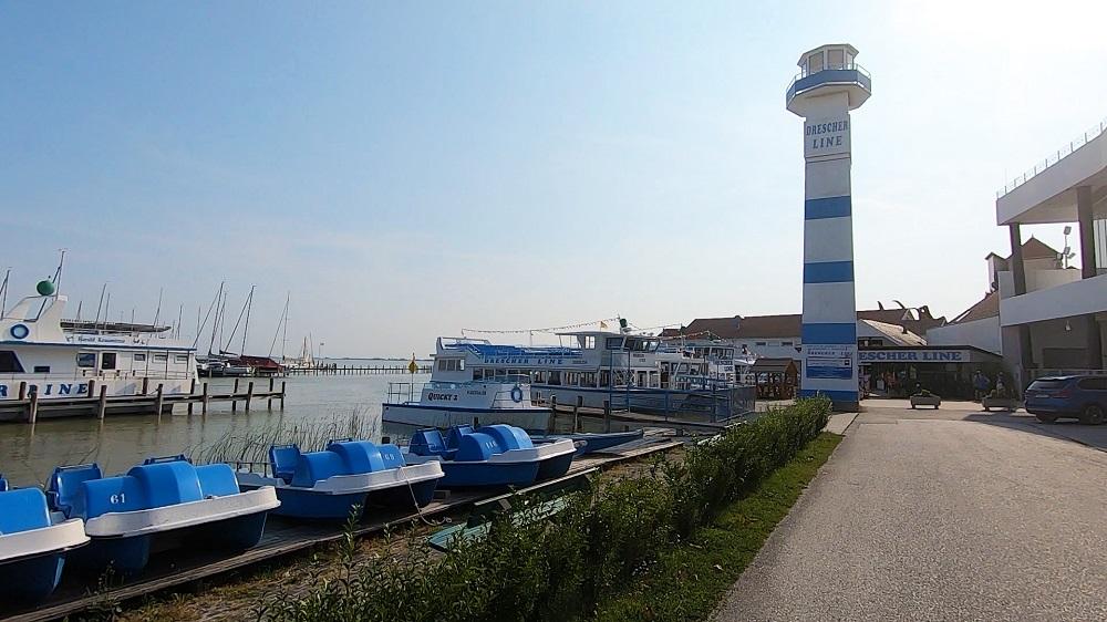 Drescher Schiffahrt Neusiedlersee