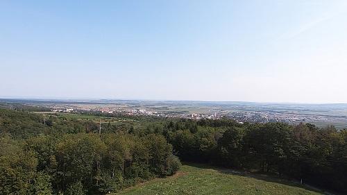 Panorama Eisenstadt und Sankt Georgen